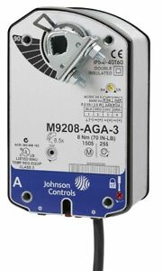 Johnson Controls 24vac dc On off 2 Spdt Electric Actuator 40 deg To