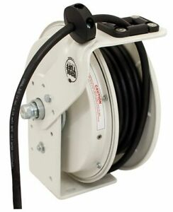 Kh Industries Retractable Cord Reel 20 Max Amps Cord Ending Flying Lead 50