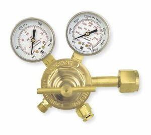 Victor Professional Sr250c 540 Series Gas Regulator 4 To 80 Psi 2 500 Oxygen