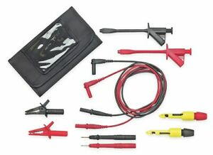 Pomona Test Lead Kit For Use With Multimeters And Clamp On Ammeters 5903