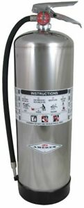 Amerex Water Fire Extinguisher Fire Extinguisher With 2 5 Gal Capacity And 55