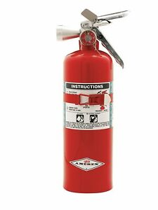 Amerex Halotron Fire Extinguisher With 5 Lb Capacity And 9 Sec Discharge Time