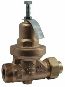 Apollo Water Pressure Reducing Valve Standard Valve Type Lead Free Bronze