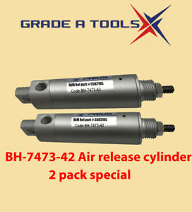 Bh 7473 42 Air Release Cylinder For Bendpak 4 post oem Ref 5502195 2 Pack