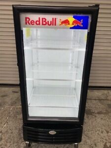 Glass Door Drink Display Merchandiser Refrigerator Cooler Imbera Vr 10 9481