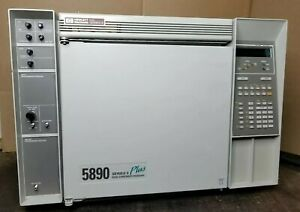 Hp 5890 Series Ii Gas Chromatograph Plus Power Tested Agilent
