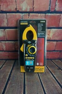 New Craftsman Proseries 1000a Ac Dc True Rms Clamp Meter Tester Leads W case