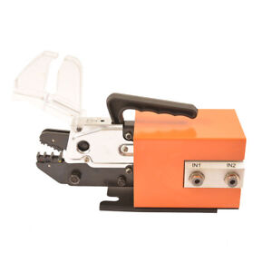 Am 10 Pneumatic Wire Crimping Machine Tools Terminal Mobile Crimper Air Powered