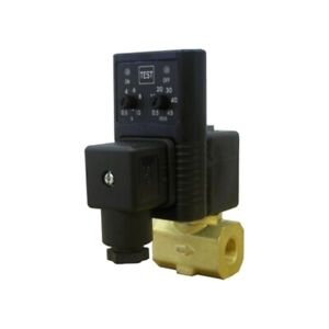 Air Compressor Drain Valve Timer Manual Test Switch Automatic Forged Brass New