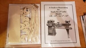 Renovating The South Bend Lathe 16 Rebuild Manual And Parts Kit