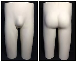 Vintage Jcpenney Retail Display Male Mannequin Dress Form Butt Hip Buttocks