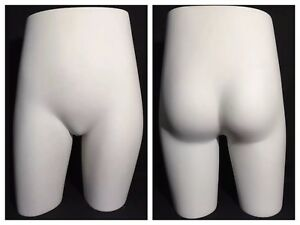 Vintage Jcpenney Retail Display Female Mannequin Butt Hip Dress Form