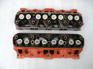 70 Aar Cuda 70 T A Challenger 340 Six Pack Heads Only Set On Ebay