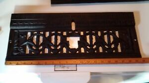 Antique Gas Fireplace Insert Part