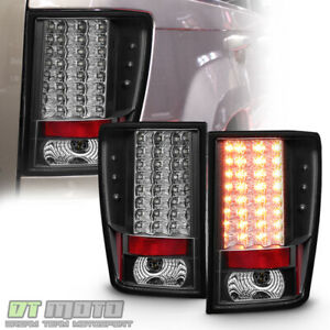 2007 2010 Jeep Grand Cherokee Lumiled Led Tail Lights Brake Lamps 07 10