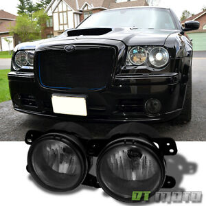 Smoked 2005 2007 Magnum Chrysler 300 Pt Cruiser 07 Wrangler Fog Lights Lights