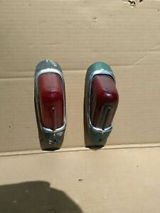 1937 1938 1939 1940 Buick Tail Lights Pair Taillights Pr