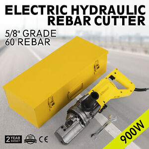 Rc 16 5 8 Capacity Hydraulic Rebar Cutter Metal Rod Electric Round Steel Great