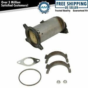 Front Exhaust Catalytic Converter Gasket Kit For Ford Lincoln Mazda Mercury