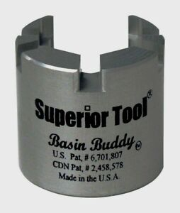 Superior Tool Basin Buddy Faucet Nut Wrench Universal Toilet 1 2 1 4 3 8 03825