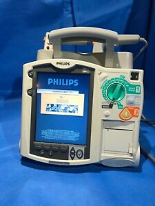 Philips Heartstart Mrx M3535a Defibrillator With Ecg Option With Hard Paddles