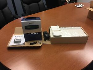 Gently Used Acroprint Es1000 Timeclock W Key Power Cord 1000 Timecards