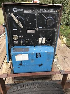 Used 1996 Miller Diesel Welder Project Parts