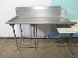 Heavy Duty Commercial S s Left Side Clean 60 l Dish Washing Table