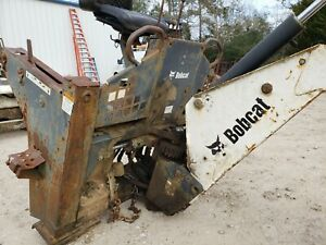 Bobcat 607 Skid Steer Backhoe Attachment 2007