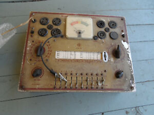 Vintage Heathkit Model Tc 1 Dynamic Tube Checker