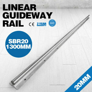 1x Sbr20 1300mm Supported Linear Rail Shaft Slide Guide Bearing Un