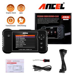 Ancel Obd2 Scanner Check Engine Abs Srs Airbag Trasmission Car Diagnostic Tool