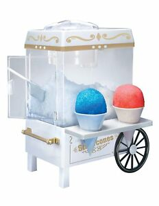 Shaved Cart Tabletop Electric Ice Crusher Shaver Machine Snow Cone Maker New