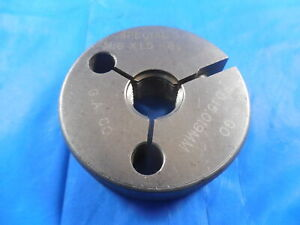 M16 X 1 5 Special Metric Thread Ring Gage 16 0 Go Only P d 15 019 Inspection