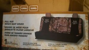 Mossy Oak Country Camo Full Size Bench Seat Cover Camouflage