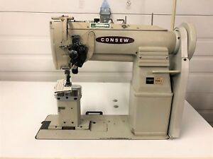 Consew 369rb 2 2 Needle Post Walking Ft Split Bar 3 8 Industrial Sewing Machine