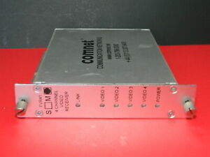 Comnet Fvr41 m 4 channel Digitally Encoded Video Multiplexer Receiver