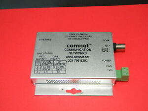Comnet Cnfe1cl1mc m Ethernet Over Coax Converter