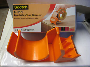 6 3m Scotch Handheld 2 Packaging Tape Dispenser H 100 Box Model 11600 New Case