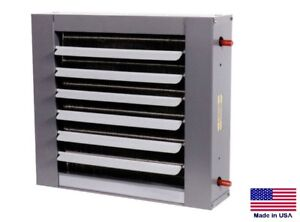 Unit Heater Hot Water Hydronic Commercial industrial 78 400 Btu 1800 Cfm
