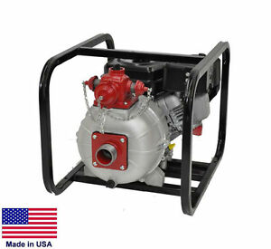 High Pressure Water Fire Pump 2 Ports 2 Stage 8 600 Gph 142 Psi