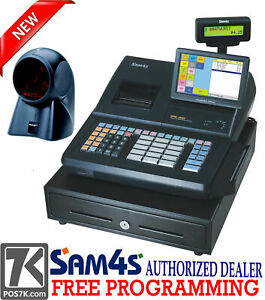 Sm4s Sps 530 Rt 7 Touch Screen Cash Register With Orbital Scanner