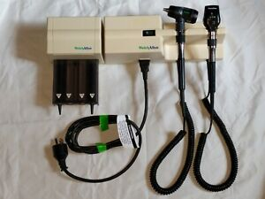 Welch Allyn 767 Series Transformer W macro View Otoscope 23810 Ophthalmoscope