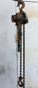 Beebe Lh300 Roustabout 1 1 2 Ton Lever Chain Hoist 5 Ft Lift Made In Usa h3