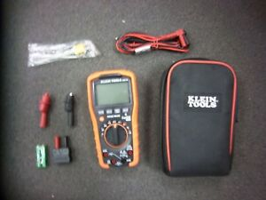 Klein Tools Mm700 True Rms Ip42 Multimeter With Soft Case