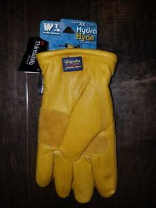Wells Lamont 1202 Hydra Hyde Leather Cold Weather Work Gloves Thinsulate