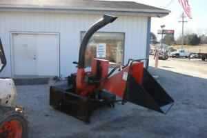 Bearcat 74500 Wood Chipper 5 Feed Skid Steer Quick Attach Hydraulic Driven