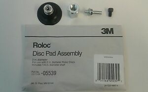 New 3m 05539 Roloc Disc Pad Assembly 2 5539 Mmm 2 Inch