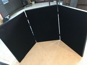 Tabletop Display Kit With Header black With Carry Padded Bag