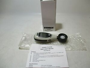 Tenma 72 9195 40000 Lux Lcd Backlit Auto Ranging Handheld Compact Light Meter